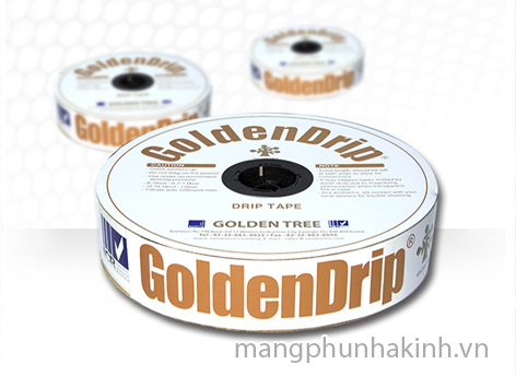 Dây tưới nhỏ giọt Golden Drip 16mm Hàn Quốc